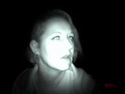 Angelika bei ihrem Wahrnehmungstest. #Ghosthunters #paranormal #übernatürlich #geist #ghosts