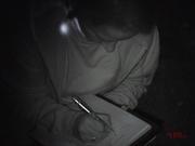 Angelika bei der Dokumentation der Basismessungen. #Ghosthunters #paranormal #übernatürlich #geist #ghosts