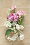 ラナンキュラスの壁掛け(ピンク) W20㎝×H30㎝ 4,600円  所沢市M様