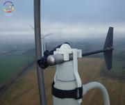 Support de capteur laser pour éolienne (60 m de hauteur)