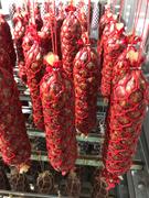 SalamiNet 45 x 280mm Netz Rot mit Schlaufe