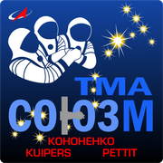 Mission-patch Sojus TMA-03M, source :  http://www.collectspace.com/ubb/Forum18/HTML/000916.html