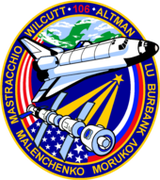 Mission patch Space Shuttle STS-106