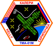 Mission-patch Sojus TMA-01M, source :  http://www.collectspace.com/ubb/Forum18/HTML/000916.html