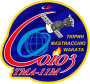 Mission-patch Sojus TMA-11M, source:   http://www.collectspace.com/ubb/Forum18/HTML/000916.html