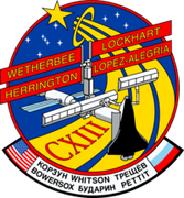 Space Shuttle STS-113 mission patch