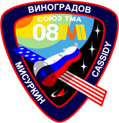 Mission-patch Sojus TMA-08M, source:   http://www.collectspace.com/ubb/Forum18/HTML/000916.html
