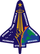 Mission patch STS-107 Columbia