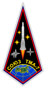 Mission patch Sojus TMA-7
