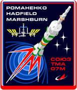 Mission-patch Sojus TMA-07M,source:  http://www.collectspace.com/ubb/Forum18/HTML/000916.html