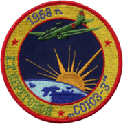 Mission patch Sojus 3