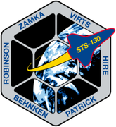 Space Shuttle STS-130 mission patch