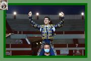 'Puerta Grande' para Gonzalo Cruz