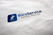 Logogestaltung Büroservice Müller