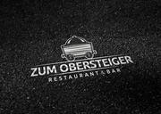 Logogestaltung zum Obersteiger Restaurant und Eventcatering