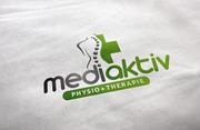 Logogestaltung Physiotherapie Praxis Mediaktiv