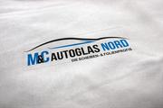 Logogestaltung M&C Autoglas Nord