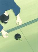 葉室麟「潮騒はるか」10月号原画 2016