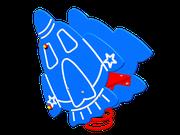 Altalena a molla Astronave