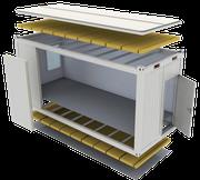 Составные части блок-модуля Containex