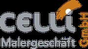 Logodesign für Celli Malergeschäft GmbH · Ihr Maler mit dem Auge fürs Detail