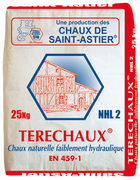 chaux supports peu resistants