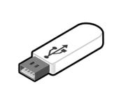 Mit USB-Stick mit Ihren Aufnahmen