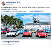 Photographies pour le Grand Prix De Tours - Chinon Classic
