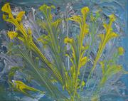 Blumenstrauss, Acryl auf Leinen, 40x50, 2018