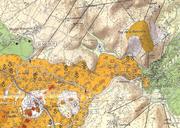 """Extrait de la Carte """" Volcanologie de la Chaîne des Puys """" éd. 2009 ( (Pierre Boivin, ..., EAVUC, UPB)"""