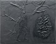 Porteur - 48 x 60 cm - 2019. Edition résine et fer.