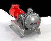 Série JE - Pompe à piston excentré