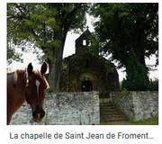 chapellede St Jean le Fromental,  du IX eme siècle