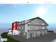 Visueller Entwurf Neubau Mehrfamilienwohnhaus Gutach