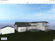 Visueller Entwurf Neubau und Umbau Wohnhaus Herbolzheim