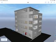 Visueller Entwurf Neubau Mehrfamilienwohnhaus Waldkirch