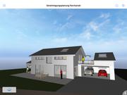 Visueller Entwurf Neubau Wohnhaus Sexau