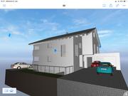 Visueller Entwurf Neubau Wohnhaus Kenzingen