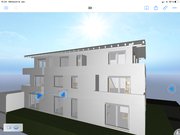 Visueller Entwurf Neubau MFH Elzach - HOLZRAHMENBAU EFFIZIENZHAUS KFW 40