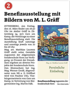 Vorankündigung, Bezirksblätter Horn, Woche 9
