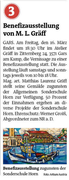 Vorankündigung, Bezirksblätter Horn, Woche 11