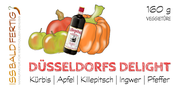 Etikett Düsseldorfs Delight - mit Killepitsch