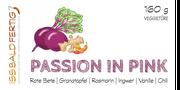 Etikett Passion in Pink - die Ur-Veggietüre, mit der alles begann