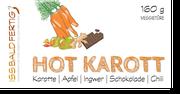 Etikett Hot Karott - super zu Nudeln