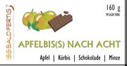 Etikett Apfelbis(s) nach Acht