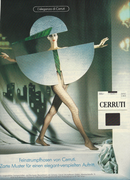 Cerruti Printwerbung, Agentur: FCB, Styling: Randi Bubat