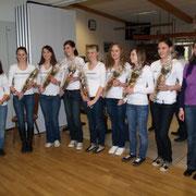 Ehrungen 2009 SKG Stockstadt Tennis - U18 Juniorinnen