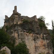 Castelbouc dans les Gorges du Tarn