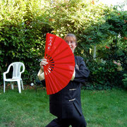 Tai Chi-Fächerform