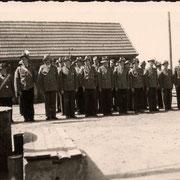 1955 Antreten bei Heinrich Maatsch